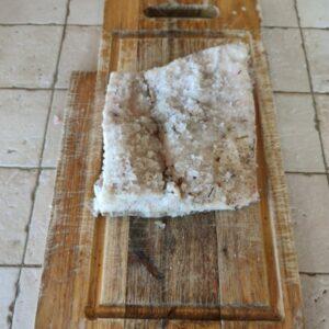 Lardo di colonnata - Maiali di cinta senese Gubbio
