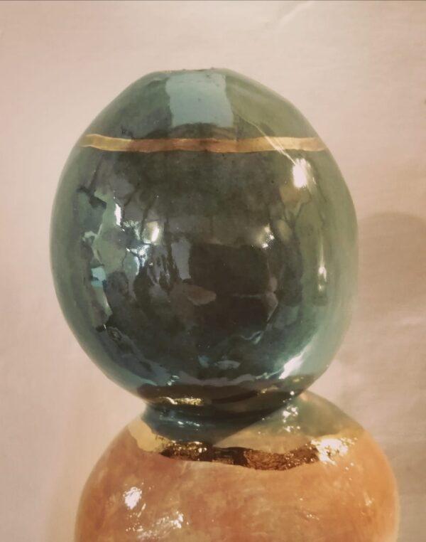 Vaso solifleur h 40 cm - Unico Contemporanea Gubbio