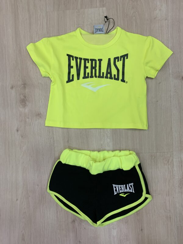 Completo bambina Everlast Grelì Gubbio