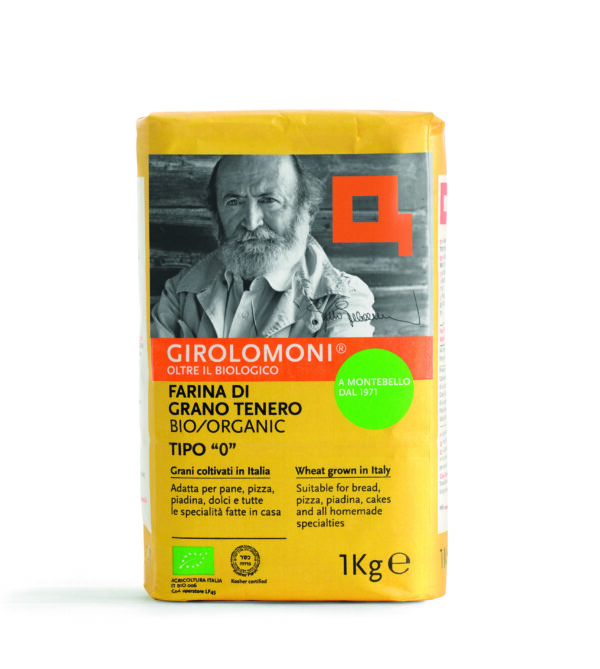 """Farina di Grano Tenero biologico Tipo """"0"""" 1 kg Angolo del Biologico Gubbio"""