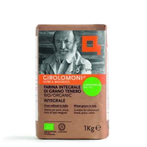 Farina Integrale di Grano Tenero biologica 1 kg Angolo del Biologico Gubbio
