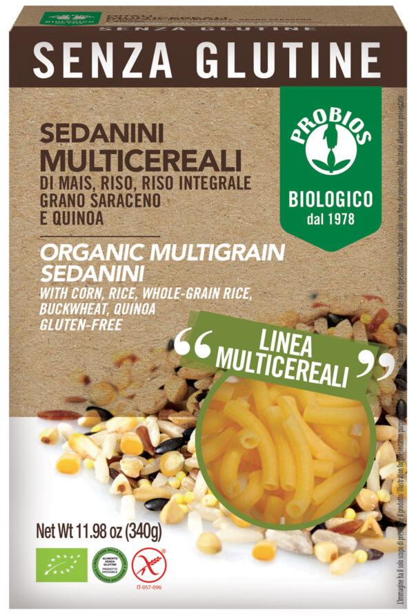 Sedanini Multicereali 340 gr. Angolo del Biologico Gubbio