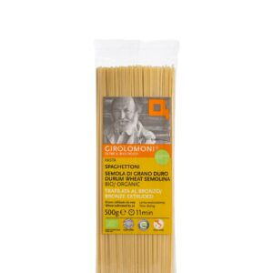 Spaghettoni di Grano Duro Bio trafilata al bronzo 500 gr Angolo del Biologico Gubbio