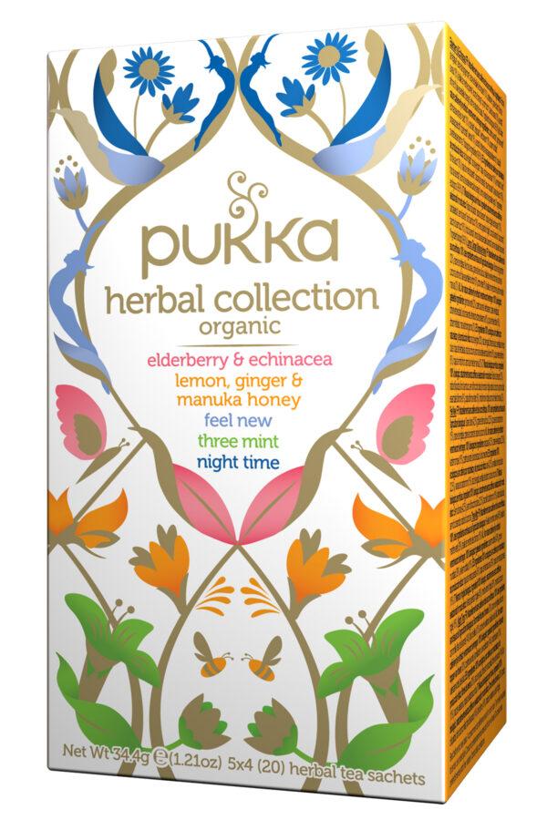 PUKKA Herbal collection tea sachets Angolo del Biologico Gubbio