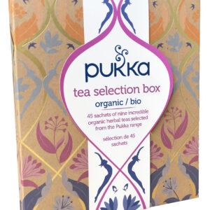 PUKKA Tea selezione 45 filtri confezione regalo Angolo del Biologico Gubbio