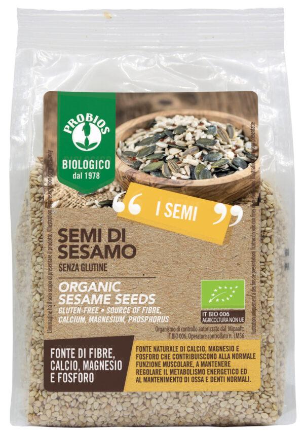 Semi di Sesamo Bio Senza Glutine 300 gr Angolo del Biologico Gubbio