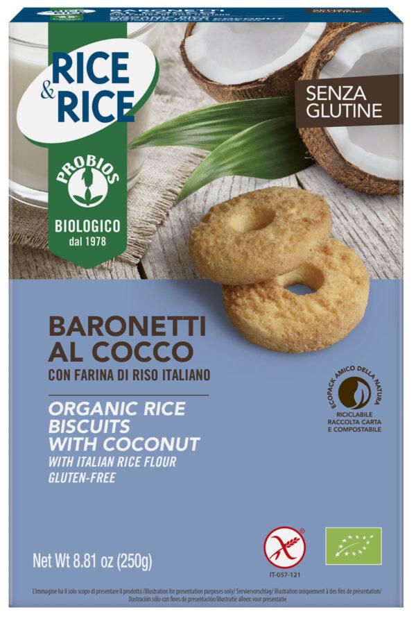 Baronetti al Cocco Bio Senza Glutine Angolo del Biologico Gubbio