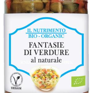 Fantasia di verdure biologiche al naturale Senza Glutine Angolo del Biologico Gubbio