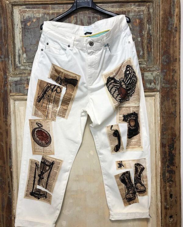 Jeans con stampa UOMO Emporio Emily Gubbio