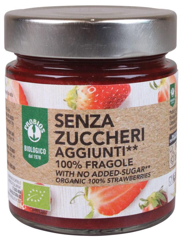 Composta 100% Fragole Bio Senza zuccheri aggiunti Angolo del Biologico Gubbio