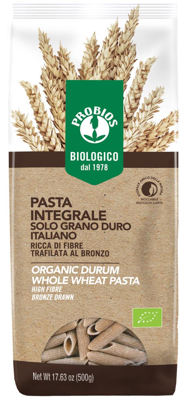 Penne Integrale di grano duro Toscano Probios 500 g Angolo del Biologico Gubbio