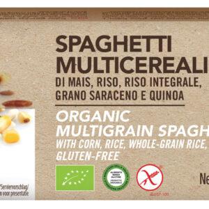Spaghetti Multicereali Bio Senza Glutine 340 g Angolo del Biologico Gubbio