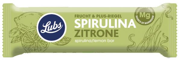 Barretta di frutta secca bio Spirulina Limone Senza Glutine Angolo del biologico Gubbio