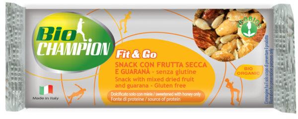 Barretta bio con frutta secca e guaranà 30 g Angolo del biologico Gubbio