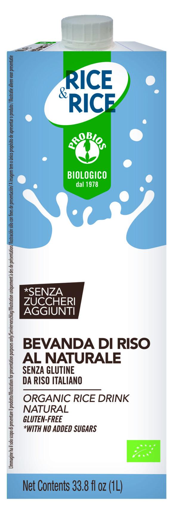 Bevanda vegetale di Riso Senza Glutine Angolo del biologico Gubbio
