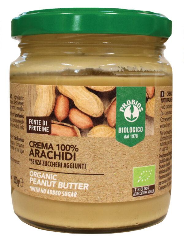 Crema Bio 100% ARACHIDI Senza zuccheri aggiunti Senza Glutine Angolo del Biologico Gubbio