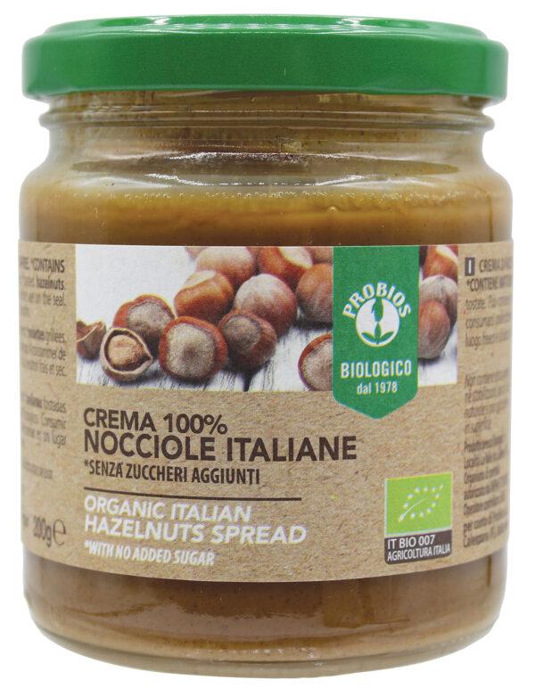 Crema 100% nocciole italiane gluten free Angolo del biologico Gubbio