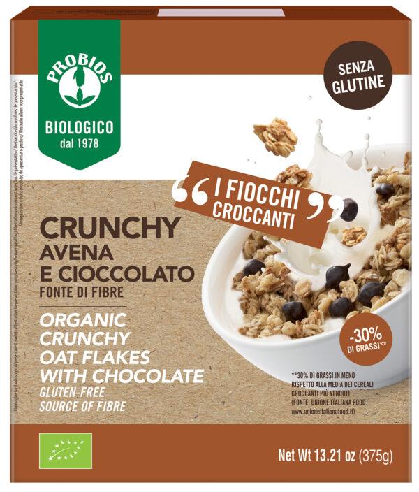 Crunchy Avena e Cioccolato Bio Senza Glutine Angolo del biologico Gubbio